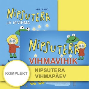 Komplekt-kinkepakk Nipsutera vihmapäev