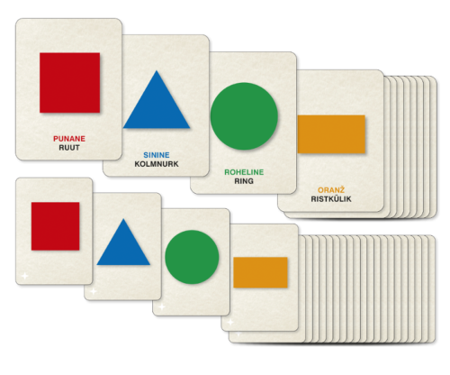 Värvi ja kujundikaardid